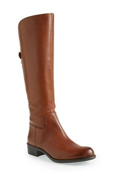 Free shipping and returns on Franco Sarto 'Cricket' Boot (Women) at Nordstrom.com. A gracefully curved topline adds an extra hint of modern appeal to a standby knee-high boot shaped from smooth leather.