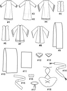 Simplicity Pattern 4797 Boys' and Girls' Nativity Costumes. Nativity Costumes, Nativity Crafts, Christmas Costumes, Purim Costumes, Christmas Pageant, Christmas Program, Christmas Concert, Wise Man Costume, King Costume