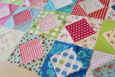 Sherri  had a fabulous post over at the Moda Cutting Table , about pulling fabrics from different lines.      Immediately I opened my ...