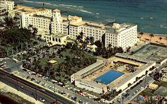 HOLLYWOOD BEACH HOTEL Hollywood Beach Hotels, Hollywood Beach Florida, Florida Girl, Old Florida, Alma Mater, Paris Skyline, Miami, Road Trip, Homes