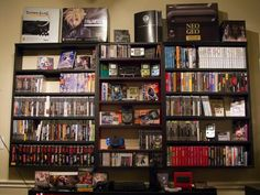 Game Storage Display
