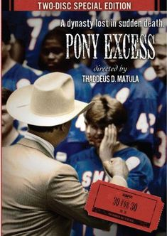 """In The Early The Southern Methodist University (smu) Mustangs Were Riding High On The Backs Of Eric Dickerson & Craig James' Celebrated """"pony Excess"""" Football Program, College Football, Football Team, Eric Dickerson, Craig James, Southern Methodist University, Watch Tv Shows, Tv Shows Online, School S"""