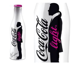 Karl Lagerfeld for Coca-Cola... More designer Coke cans: http://ofwitandwill.com/table-top/fashion-designers-who-dress-coke-cans-and-bottles/