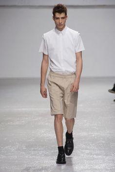 Kris van Assche, Spring/Summer 2013, model: Adrien Sahores