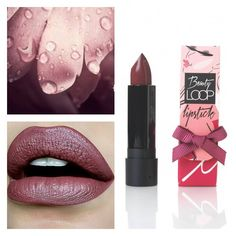"""Spice things up this season with a strikingly bold shade """"venus"""" ! Fall Lipstick, Matte Lipstick, School Makeup, Spice Things Up, Instagram Feed, Venus, Beauty, Fashion, Moda"""