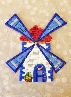Mozaik Yeldeğirmeni - mosaic windwill