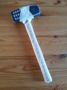 DIY Zombie hammer.