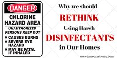 Why We Should Rethink Using Harsh Disinfectants in Our Homes