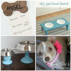 4 Fun Dog Projects via @CraftingRebel  @Centsational Girl and others