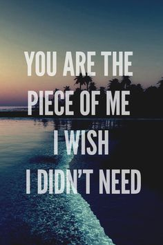 you are the piece of me i wish i didn't need. #clarity #zedd