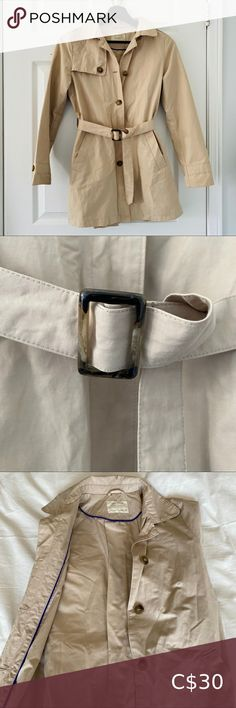 Shop Women's Zara Tan size XXS Trench Coats at a discounted price at Poshmark. Description: Excellent Used Condition. Zara Jackets, Plus Fashion, Fashion Tips, Fashion Trends, Trench Coats, Jackets For Women, Leather Jacket, Kids, Outfits