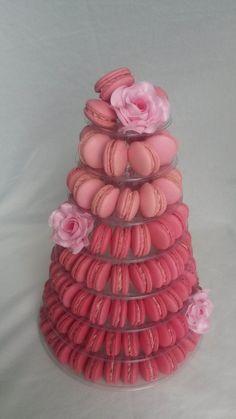 **Makronkový dort do barvy   Klasické dorty   Sladký MÉĎA - cukrárna trošku jinak