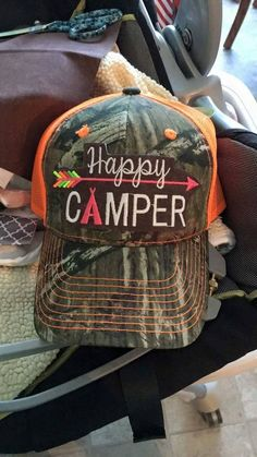 55048454607 Happy Camper Hats by GypsyInTheParlor on Etsy Hiking Gear