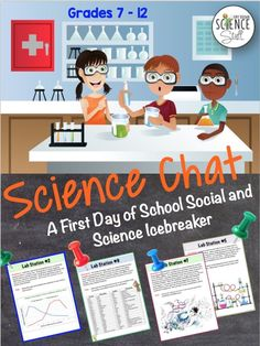Science Stuff: Science Chat: A First Day of School Science Lab Icebreaker Activity