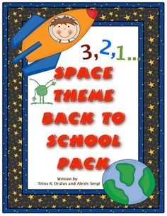 Get ready to blast off into a great school year! This 100 page file will help you with all aspects of starting your school year! It contains space theme printable room decorations, open house activites, first week communication, first week activities, and much, much more! $8.00
