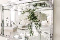 Interior Design for Real Life Glam Master Bedroom, All White, House, Home, Haus, Houses, Homes