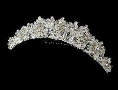 Snowflake Crystal Wedding Tiara!