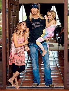 Brett Michaels kids, Raine and Jorja
