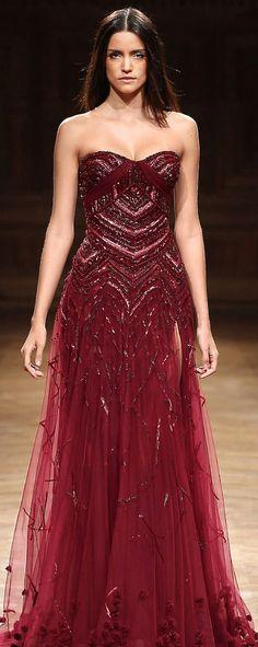 ~Tony Ward~ Inspiration: organza gown w/ intricate beading