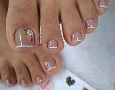 summer toenails toenail designs for summer, simple pedicures, hot toenails summer toenails toenail designs for summer, simple pedicures, hot toenails 2019 Pretty Toe Nails, Cute Toe Nails, Fancy Nails, My Nails, Toe Nail Color, Toe Nail Art, Nail Colors, Summer Toe Nails, Summer Pedicures