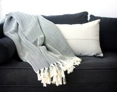 large hand loomed throws are very soft and sure to keep you cosy as the seasons change.   In breathable cotton, they make luxurious throws and also look beautiful at the end of the sofa.  http://www.atolyia.com/