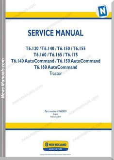 New Holland Ts Wiring Schematic on