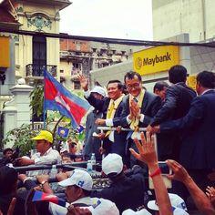The return of Sam Rainsy.