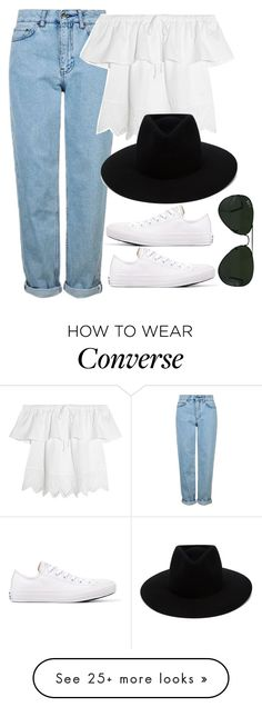 """""""Untitled #802"""" by r0sesandtea on Polyvore featuring Topshop, Madewell, Converse, Ray-Ban and rag & bone"""