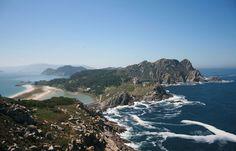 Playa de Cies en Galicia - Las 20 mejores playas de España