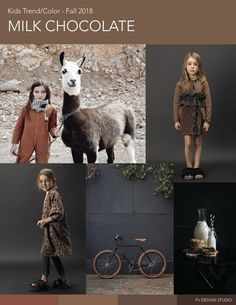 MILK CHOCOLATE   RESOURCES: Tiny Cottons, Dou Dou Kids - Fall 2017 and imageries from Pinterest.   I ROCK IT   ...