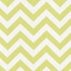 Light Lime Zig Zag Fabric by Carousel Designs (babybedding)