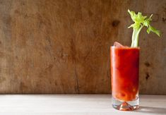 Get your vitamin C with this fancy Bloody Mary