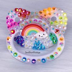 SmolBeanBoutique New and improved Rainbow Rays Nuk 6 pacifier ? Ddlg Pacifier, Bling Pacifier, Binky, Daddys Little Princess, Daddy Dom Little Girl, Little Doll, Little My, Daddy's Little Girl Quotes, Ddlg Little