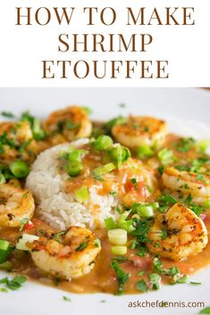 My easy to make Shrimp Etouffee is perfect for that special date night or to make any night a special occasion! Seafood Appetizers Seafood Appetizers Appetizers Appetizers for a crowd Appetizers parties Shrimp Recipes For Dinner, Shrimp Recipes Easy, Cajun Recipes, Fish Recipes, Seafood Recipes, Shrimp Ettouffe Recipe, Shrimp And Scallop Recipes, Haitian Recipes, Cajun Food