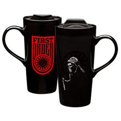 Call it a hunch, but we suspect Kylo Ren takes his coffee black. That doesn't mean you have to give in to the Dark Side, though, when imbibing from this Star Wars Kylo Ren Heat Change Ceramic Travel Mug.