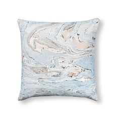 Buy the Blue Marble Cushion at Oliver Bonas. Enjoy free UK standard delivery for orders over £50.