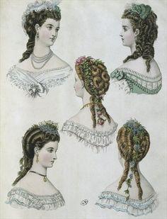 'LA MODE ILLUSTREE', 1860