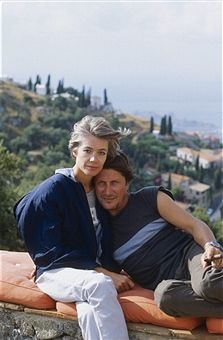 Françoise Hardy and Jacques Dutronc.