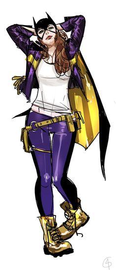 "babsdraws: "" bobjackets: "" New Batgirl art by Godfrey Escota """
