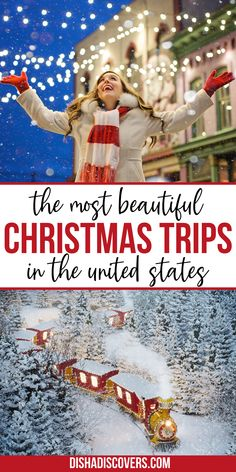 Christmas Destinations, Best Christmas Vacations, Christmas Travel, Christmas Getaways, Christmas Town, Vacation Destinations, Christmas Family Vacation, Christmas Markets, Vacation Spots