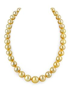 Brilliant Bijou Genuine 14k Yellow Gold Gold 7-8mm Round Black Saltwater Akoya Cultured Pearl Necklace 18 inches