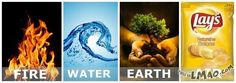 Lawl.. you will love this! THE FOUR ELEMENTS