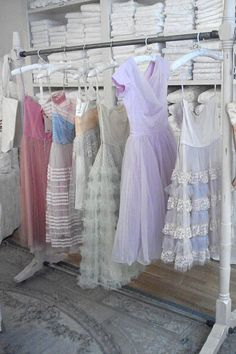 Shabby Chic Couture, NYC | Flickr - Photo Sharing! Gosh I wish I had those & places to wear them!