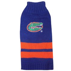 Pets First Collegiate Florida Gators Pet Sweater, Medium -- Learn more by visiting the image link. (This is an affiliate link and I receive a commission for the sales) Florida Gators Logo, Puppy Play, Dog Shower, Love Your Pet, Dog Diapers, Cat Accessories, Dog Hoodie, Dog Sweaters, Outdoor Dog