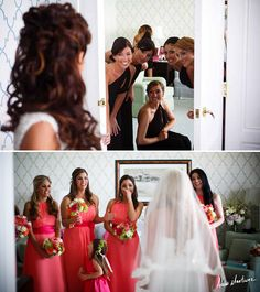 10 Must-Have Wedding Photos with The Girls -- The Girls First Look!