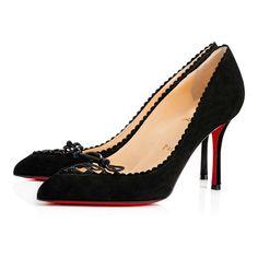 Scalopump - Red Bottom Christian Louboutin Shoes