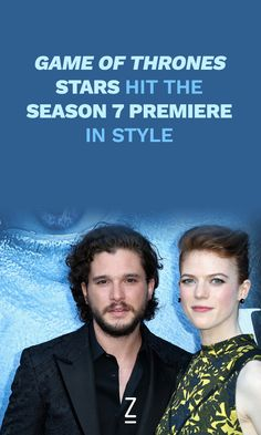 Game of Thrones' Stars Hit the Season 7 Premiere in Style