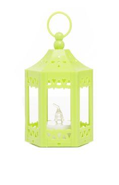 Primark - Mini lanterne citron vert à LED