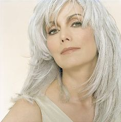 ...I will embrace my graying hair.  But not today...