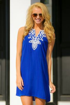 Modern Traditions Dress-Royal